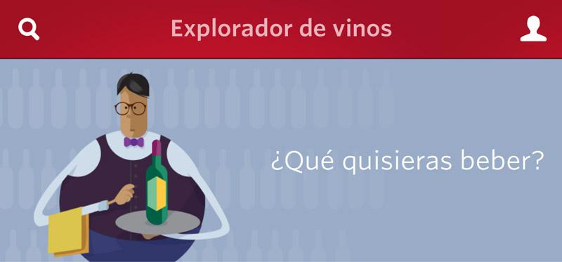 app explorador de vinos